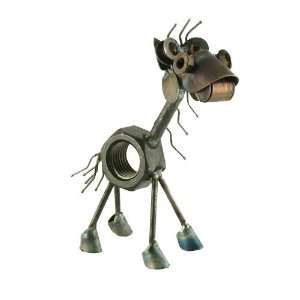 Recycled Metal Horse Business Card Holder
