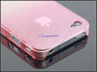 Fashion Raindrop Thin Hard Case Cover APPLE Iphone 4 4G Pink