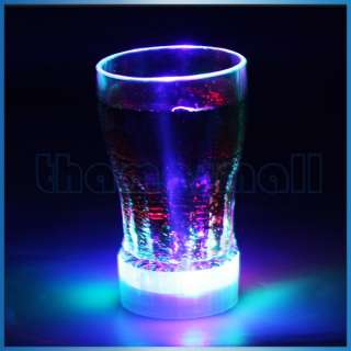 LED Flashing Plastic Wine Drink Cup Night Light Lamp Party Cup for