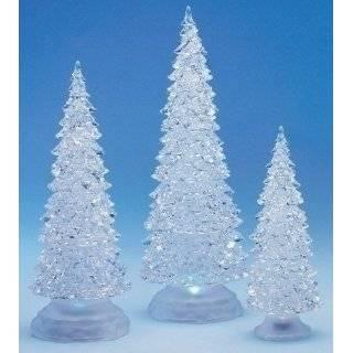 LED Lighted Acrylic Christmas Tree Holiday Decoration