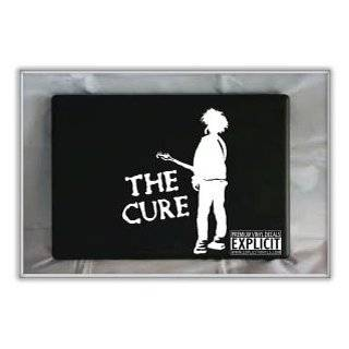 THE CURE BAND WHITE LOGO VINYL DECAL STICKER Everything