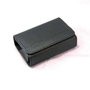 G30 Black leather camera bag case Fuji AV200 AV220 AX360 AX350