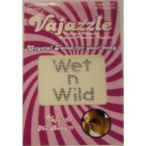 Bundle Vajazzle Wet N Wild and 2 pack of Pink Silicone Lubricant 3.3