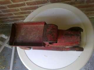 Vintage Pressed Steel Toy Dump Truck Turner Toys ?? L@@K Farm See
