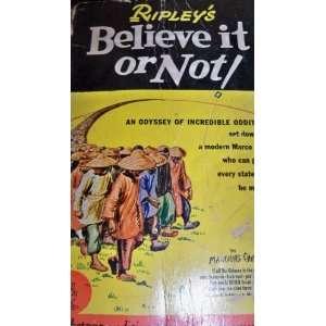 Believe it or Not Robert Ripley Books
