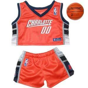 Build A Bear Workshop Charlotte Bobcats Uniform 3 pc. Toys & Games