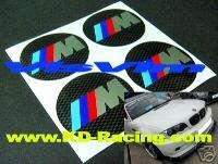 BMW M Power Wheel Centre Cap Decal Sticker M3 Z3 Z4 M5