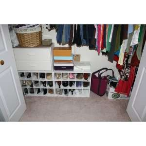 ClosetMaid 15 Cubby Shoe Organizer, White ...
