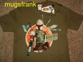 Star Wars Boba Fett Hunter Empire Strikes Back T Shirt