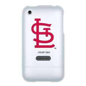 St. Louis Cardinals STL on Premium Coveroo iPhone Case 3G/3GS   White