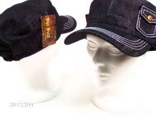 Army Cadet Hat POCKET Cap 1 size Newsboy Purple Black Brown Red