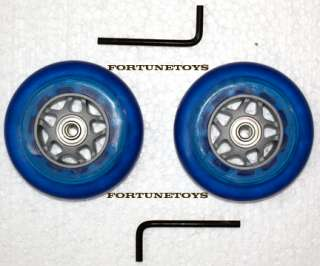 NEW LIGHT UP SCOOTER RAZOR REPLACEMENT 2 WHEELS BLUE