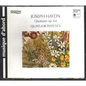 Haydn String Quartets op. 64 Joseph Haydn, Festetics Quartet Music
