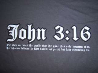 Christian Edge Apparel, John 316, Jesus Christ T Shirt