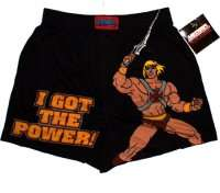 He Man 80s Cartoon Character Boxer Shorts Official New
