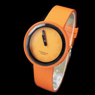 Sports Fashion Women Lady Girl Leather Quartz Candy Wrist Watch