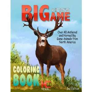 Kings Big Game Coloring Book: Toys & Games
