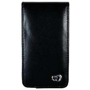 Microsoft Zune HD (16GB/32GB) Black Leather Flip Case w/Screen