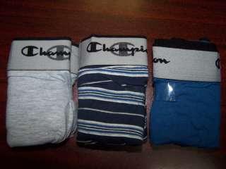 NEW 3 Pack Champion Mens Double Dry Acivefit Boxer Brief Underwear XL