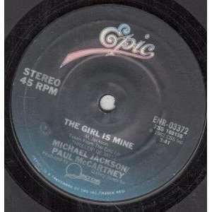 GIRL IS MINE 7 INCH (7 VINYL 45) US EPIC 1982 MICHAEL JACKSON/PAUL