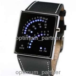 Fashion Luxury Style Sport 29 Blue LED Digital Date Lady Mens Wrist