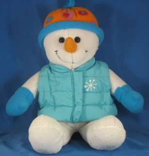 Dan Dee Collectors Choice Snowman with Vest Poly Fiber