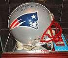 Tom Brady autographed full size Riddell New England Patriots Helmet