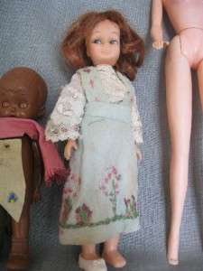 Vintage* MIXED LOT OF BARBIE DOLLS AND MINIATURE BABY DOLLS
