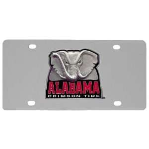 Alabama Crimson Tide NCAA License/Logo Plate
