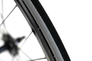Fixie Single Speed Road Bike Track Wheel Wheelset Deep V + Tyres Black