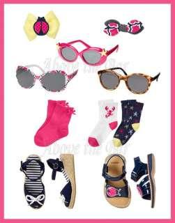 NWT Gymboree Cape Cod Cutie Sandals Socks Sunglasses Hair Clips