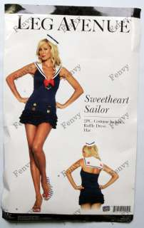 Sexy Sweetheart Sailor Halloween Costume Women