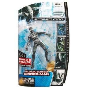 Marvel Legends Spider Man Movie Action Figure Black Suit Spider Man