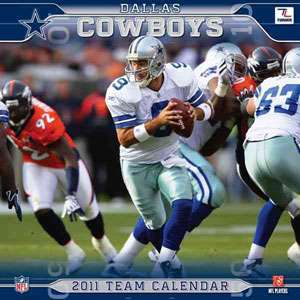 Dallas Cowboys 2011 Calendar, null: ARCHIVE