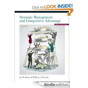 Strategic Management and Competitive Advantage (4th Edition) [Kindle