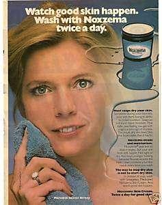 RARE 1981 Meredith Baxter Birney Noxzema Ad