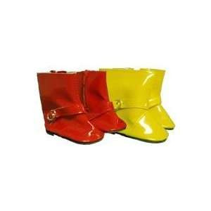 Toy Rain Boots for American Girl dolls Toys & Games