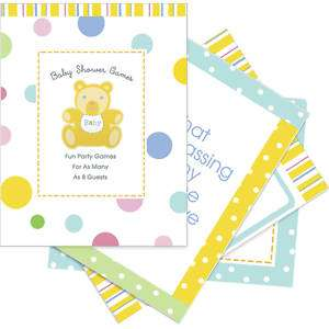 Baby Shower Party GAME Get to Know the Mommy HALLMARK