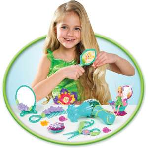 Fairies Beauty Salon Playset, Disney Fairies Pixie Pals Styling Salon