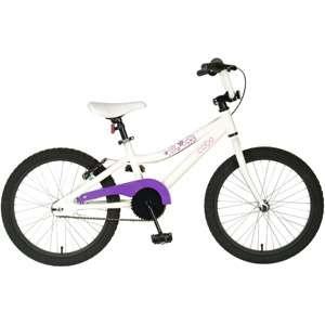 20 Cycle Force Aluminum Girls Bike, White