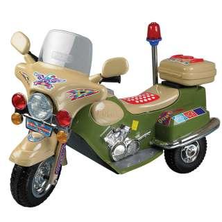 Lil Rider™ Green Machine Police Bike Battery Operated 886511002005