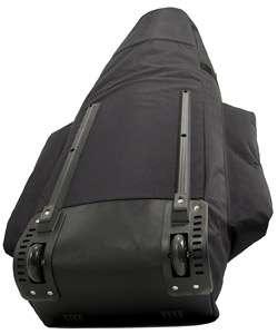 CaddyDaddy CDX 10 Golf Travel Bag with Wheels and Shoe Bag