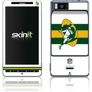 Green Bay Packers Retro Logo Flag skin for Motorola Droid