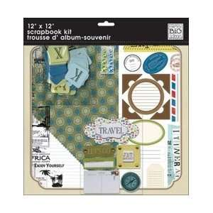 Travel Page Kit 12X12 Arts, Crafts & Sewing