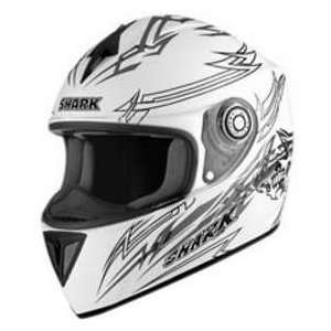 Shark RSI TITAN WHITE_SIL SM MOTORCYCLE Full Face Helmet