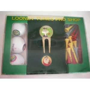 Looney Tunes Pro Shop Golf Set [Brass hand painted Bugs Bunny divot