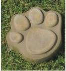 SMALL PAW PRINT PLASTER OR CONCRETE STEPPING STONE GARDEN MOLD 1018