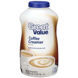 Great Value Coffee Non Dairy Creamer