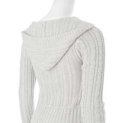Ci Sono by Adi Juniors Cable Knit Hooded Cardigan