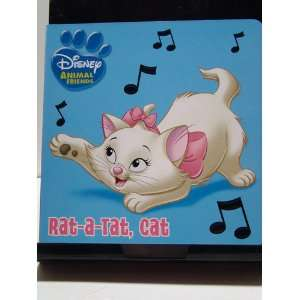 DISNEY ANIMAL FRIENDS RAT A TAT, CAT DISNEY: Books